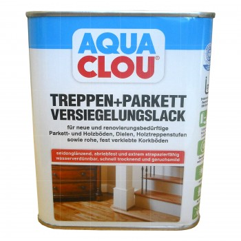 Aqua Clou Treppen + Parkett Versiegelungslack - 750ml