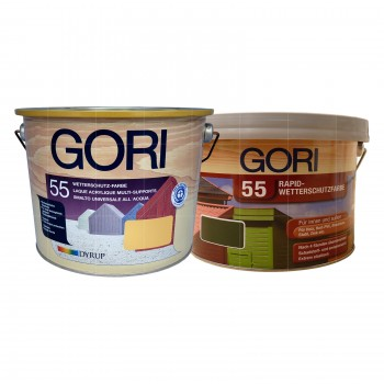 Gori 55 Wetterschutz-Farbe