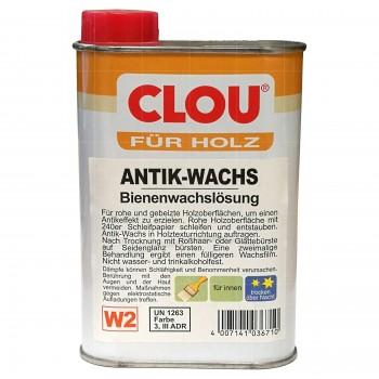 Clou Antik-Wachs W2 (farblos)