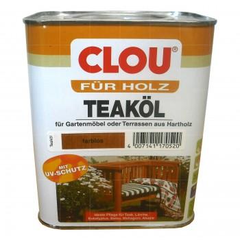 Clou Teaköl - 2,5L (Farblos)