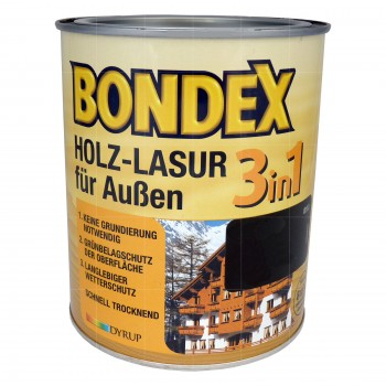 Bondex Holz-Lasur für aussen 3in1