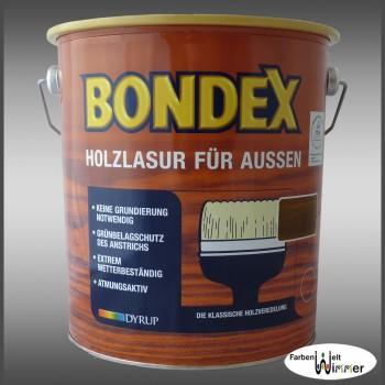 Bondex Holzlasur für aussen - 4L (731 Nussbaum)
