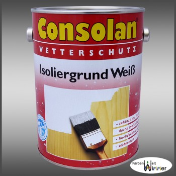 Consolan Isoliergrund Weiß