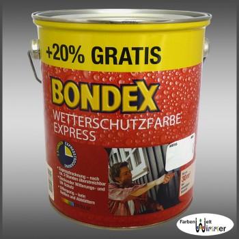 Bondex Express Wetterschutzfarbe