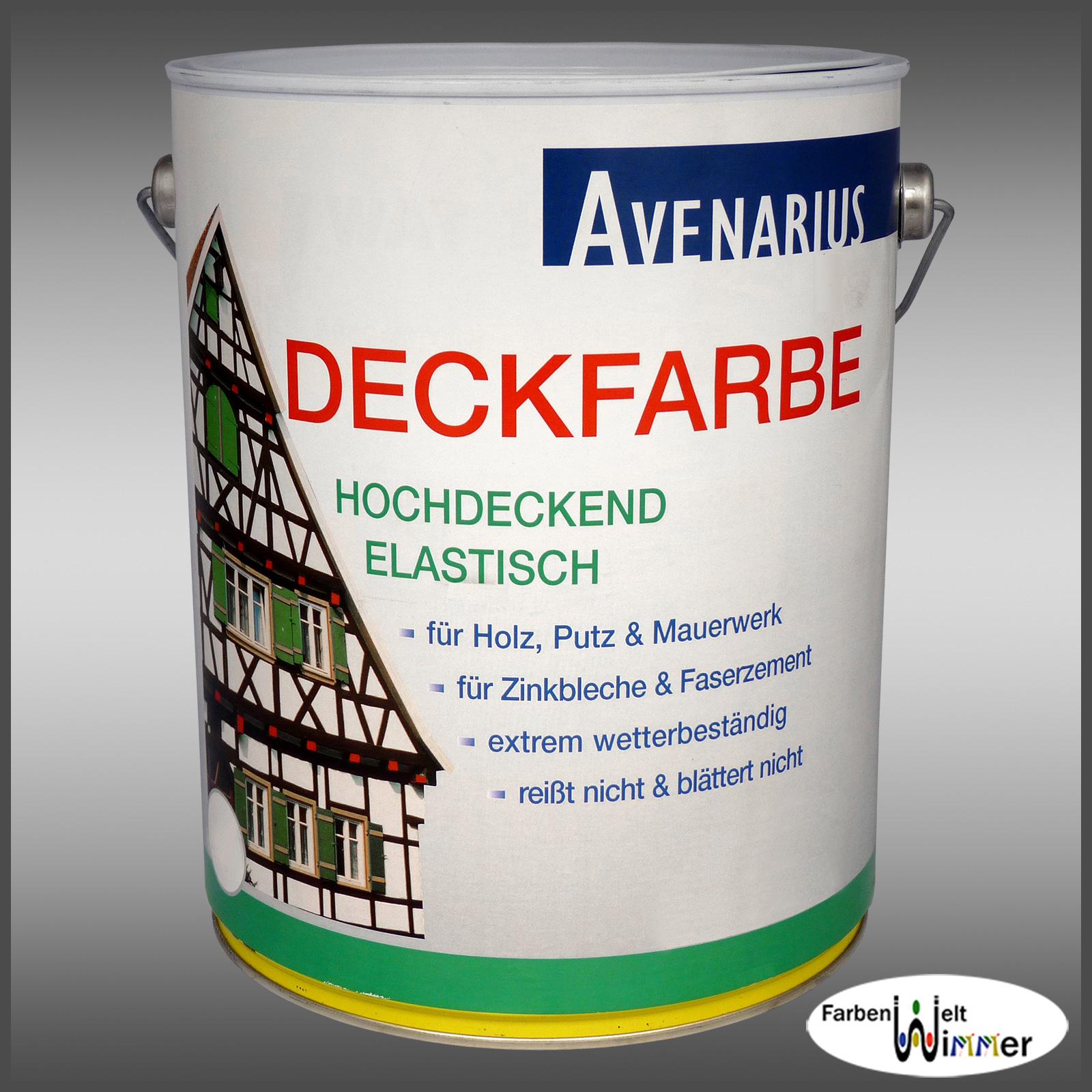 Farbenwelt wimmer avenarius deckfarbe for Holzschutzmittel fachwerk