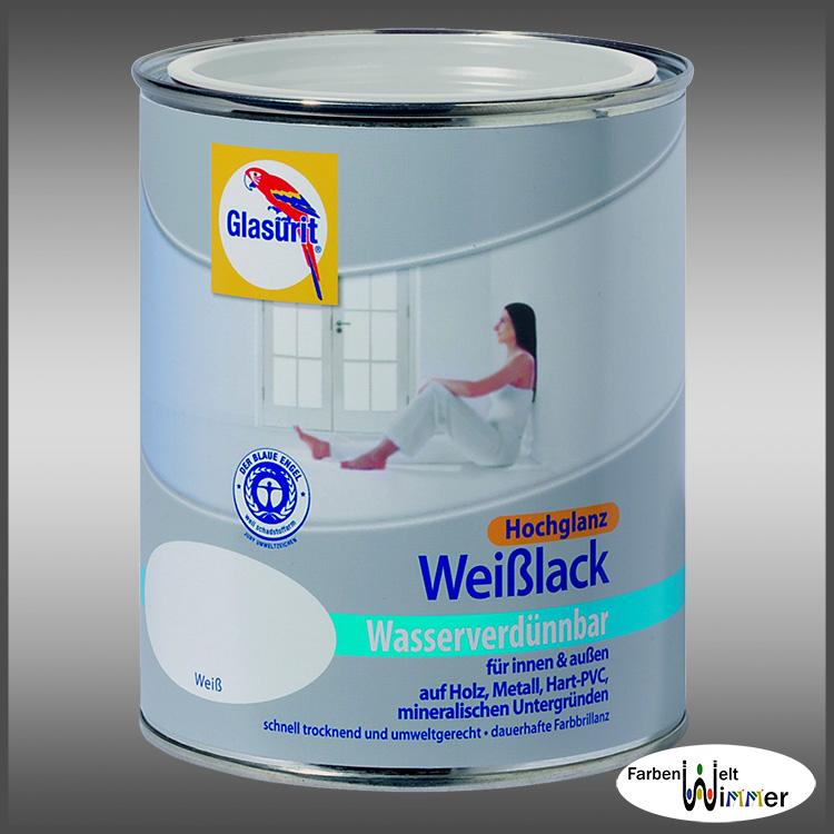 farbenwelt wimmer glasurit wei lack wvb. Black Bedroom Furniture Sets. Home Design Ideas