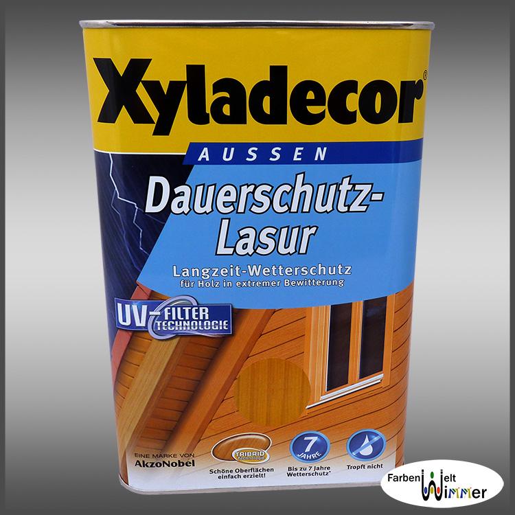 farbenwelt wimmer xyladecor dauerschutz lasur 2 5l palisander. Black Bedroom Furniture Sets. Home Design Ideas