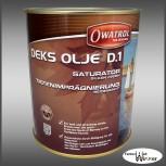 Owatrol Deks Olje D1 - 1L