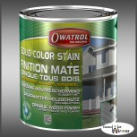 Owatrol Solid Color Stain - 1L (Schwedenrot)