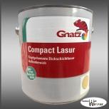 Gnatz Compact Lasur - 2,5L (Antikweiß)