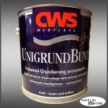 CWS WERTLACK® Unigrund Bunt - 2,5L (Nr.39 Rot)