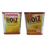 CLOUsil Holzschutzlasur - 750ml (Braun Nr. 12)