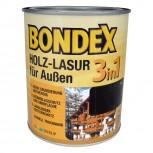 Bondex Holz-Lasur für aussen 3in1 - 2,5L (Mahagoni)