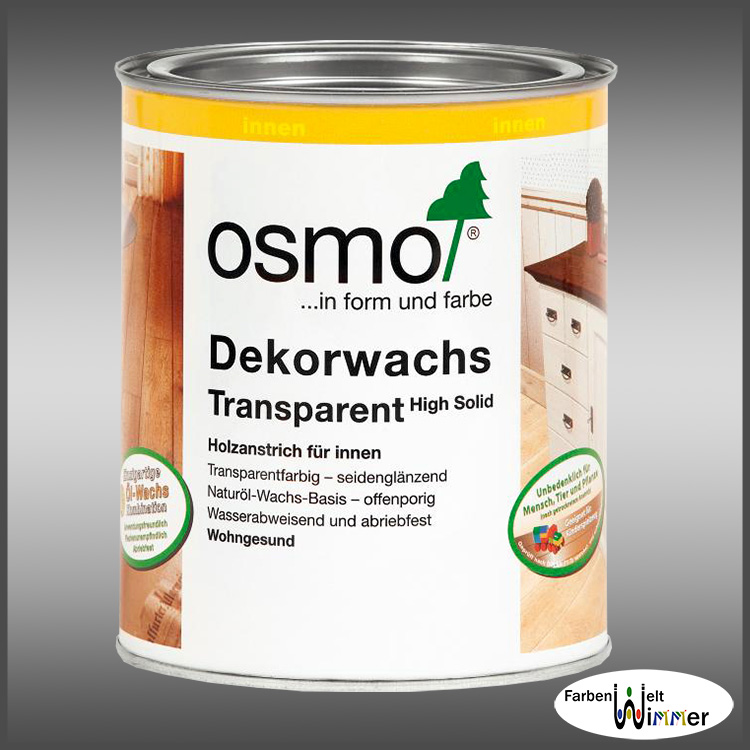 0 125l osmo dekorwachs transparent 15 l holz l wachs holzwachs m belwachs ebay. Black Bedroom Furniture Sets. Home Design Ideas